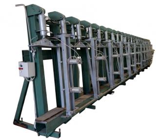 Вертикальный гидравлический пресс для склеивания по плоскости ВЕГ 9000