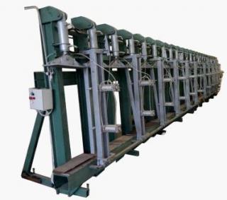 Вертикальный гидравлический пресс для склеивания по плоскости ВЕГ 6000