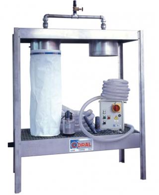 Сепараторный фильтр шлама сточных вод CORAL для ZINCOVELO (с водяной завесой)