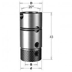Цанга быстросъемная на Morbidelli SCM