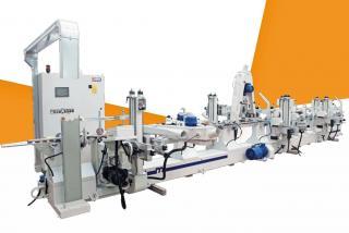 Makor LP7 Автоматическая линия для шлифования погонажных изделий