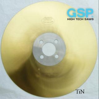 Пилы HSS (отрезные фрезы) по металлу GSP (Чехия)
